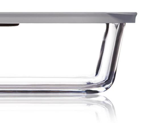 Borosilicate glass base