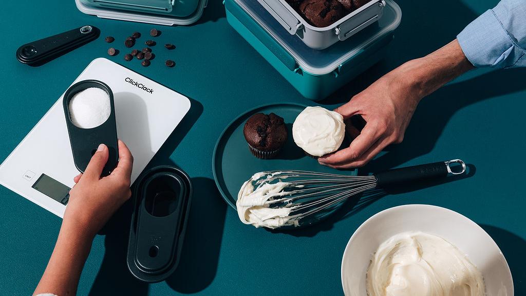 ClickClack baking gadgets