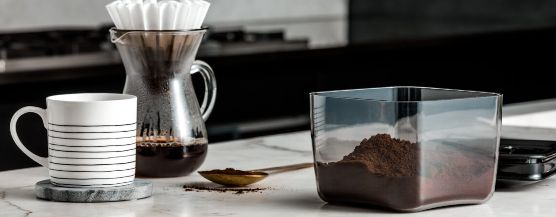 Coffee Display Cube