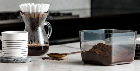 Coffee Display Cube